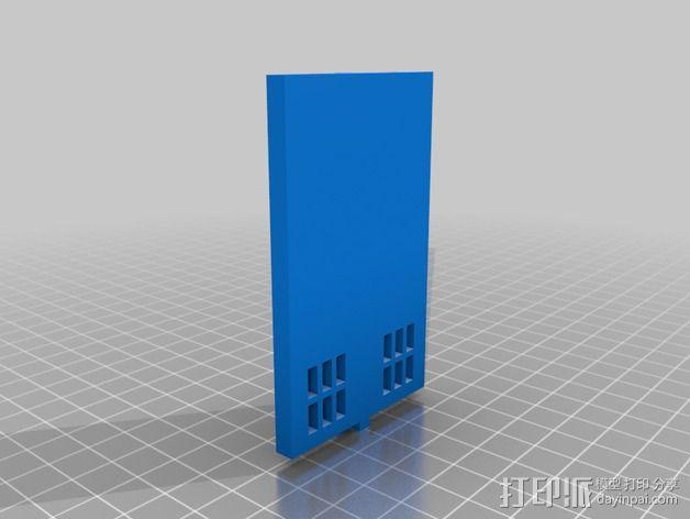 塔迪斯警察亭 3D模型  图4