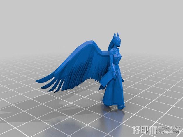 梅尔菲森特 人物模型 3D模型  图4
