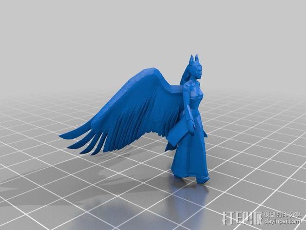 梅尔菲森特 人物模型 3D模型  图6