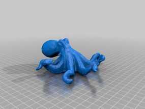 章鱼  3D模型