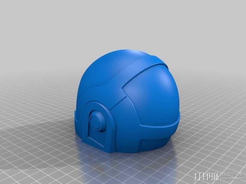 蠢朋克头盔 3D模型  图4