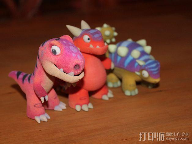 小恐龙 3D模型  图3