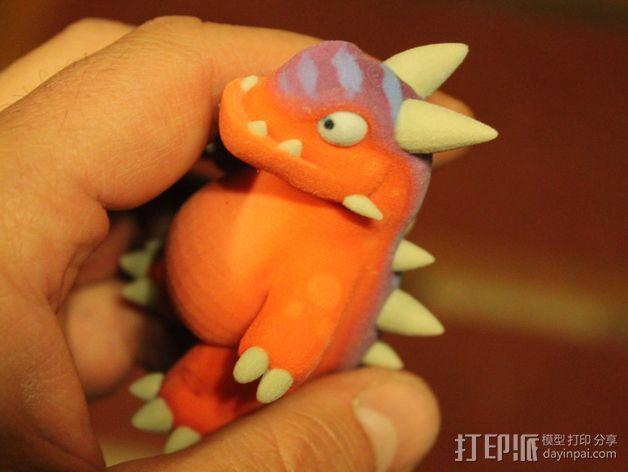 小恐龙 3D模型  图4