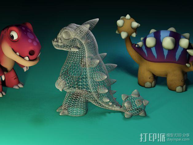 小恐龙 3D模型  图5