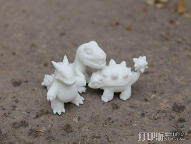 小恐龙 3D模型  图8