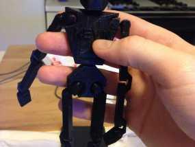 人形机器人  3D模型