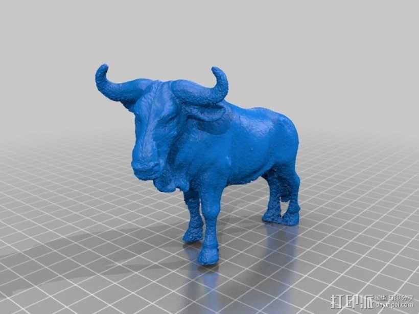 角马 3D模型  图1