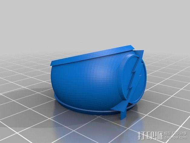 闪电指环  3D模型  图2