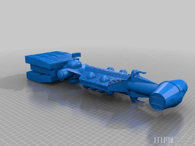 C-Corvette汽车模型 3D模型  图1