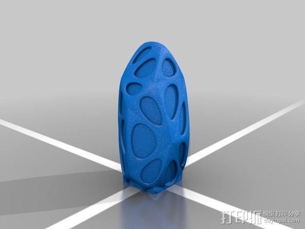 外星水晶 3D模型  图2