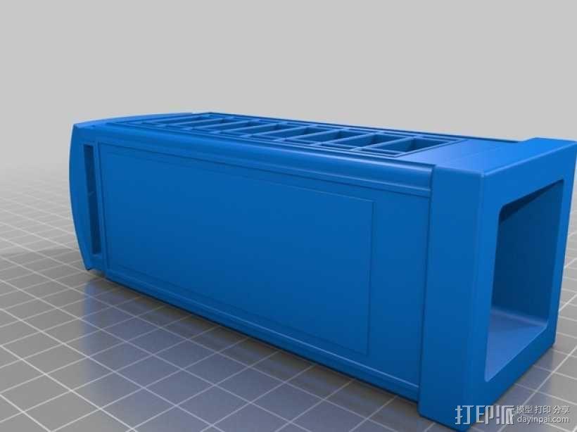 电话亭  3D模型  图2