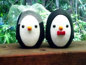 婚礼企鹅 3D模型