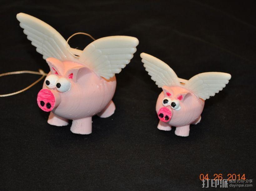 小飞猪 3D模型  图1