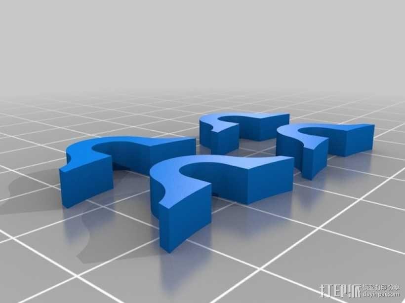 小飞猪 3D模型  图4