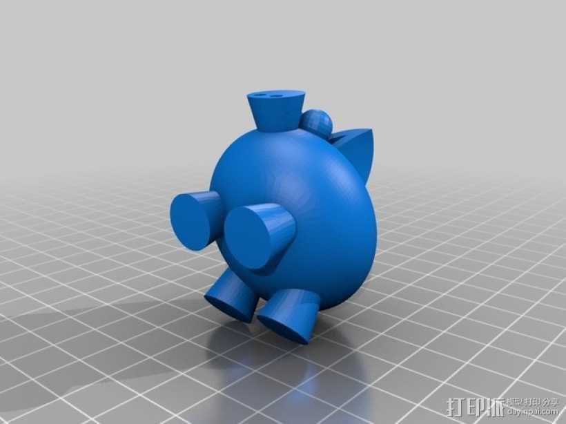 小飞猪 3D模型  图9