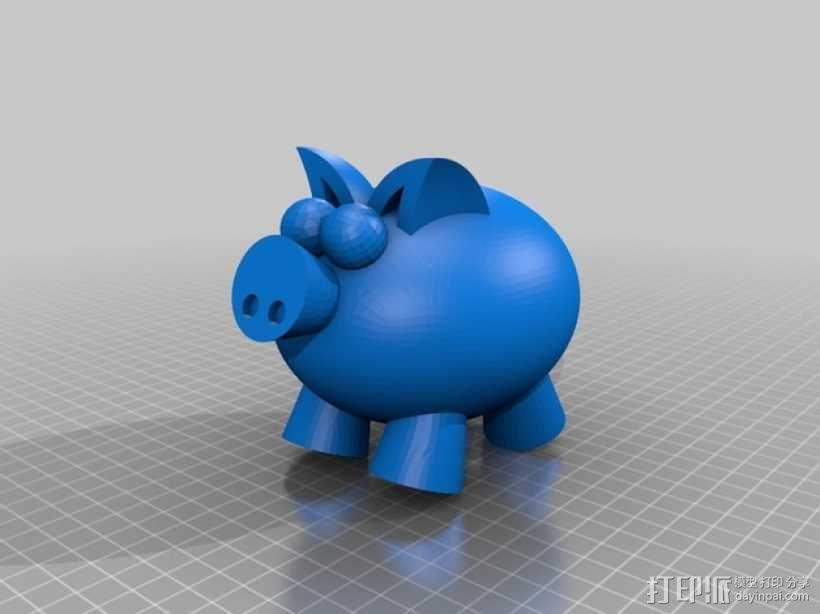 小飞猪 3D模型  图11