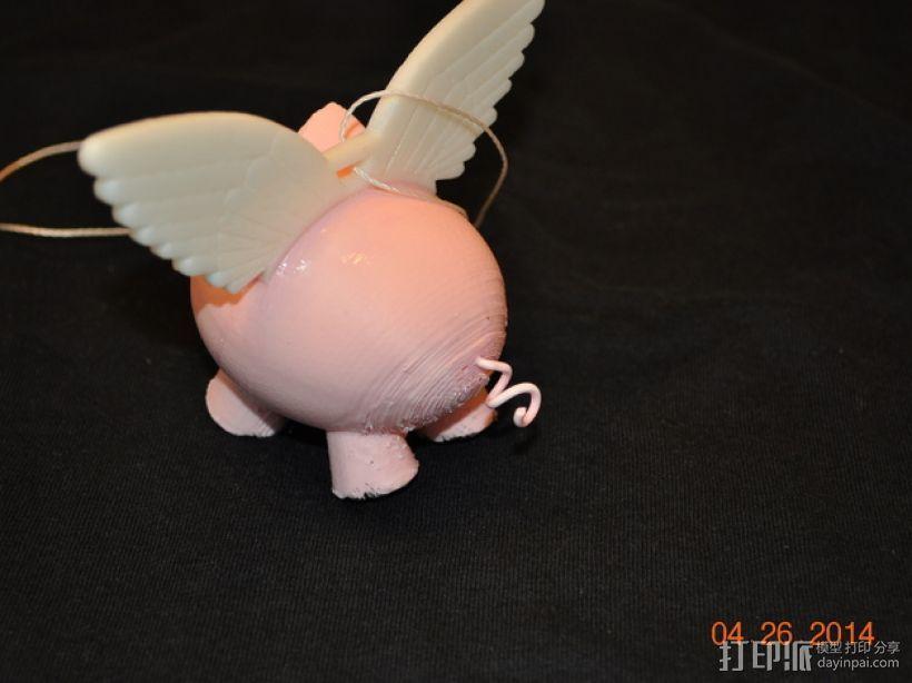 小飞猪 3D模型  图12