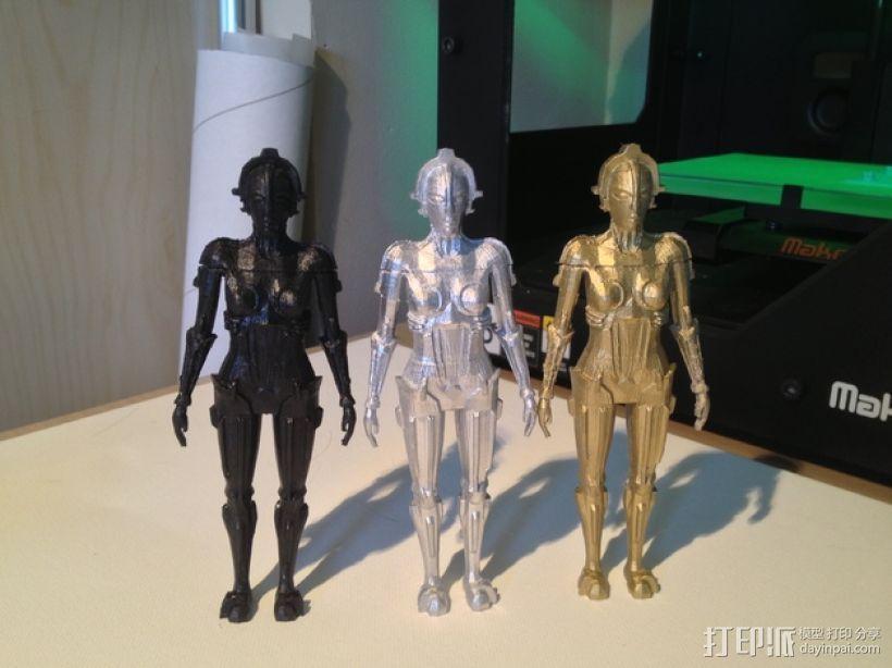 机器人Maria 3D模型  图4
