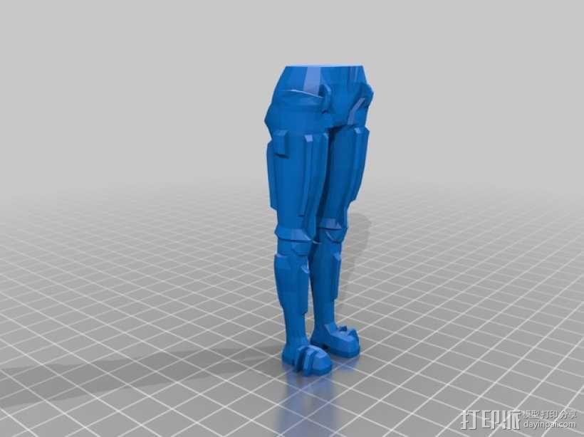 机器人Maria 3D模型  图3