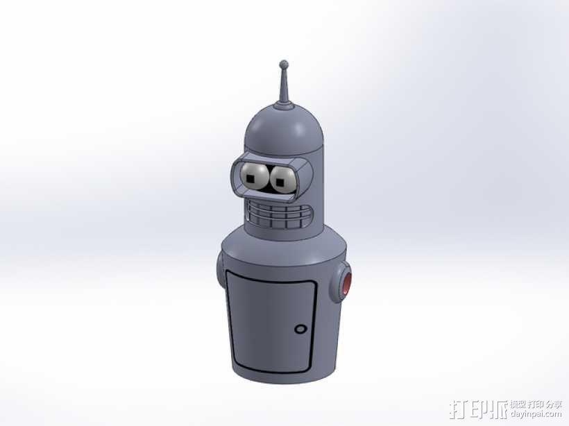 Bender机器人  3D模型  图6