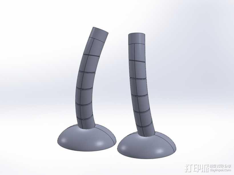 Bender机器人  3D模型  图8
