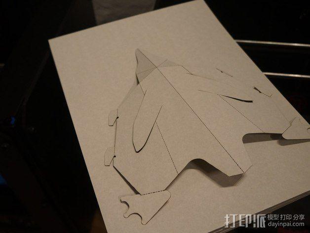 可爱的企鹅 3D模型  图3