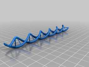DNA分子模型 3D模型