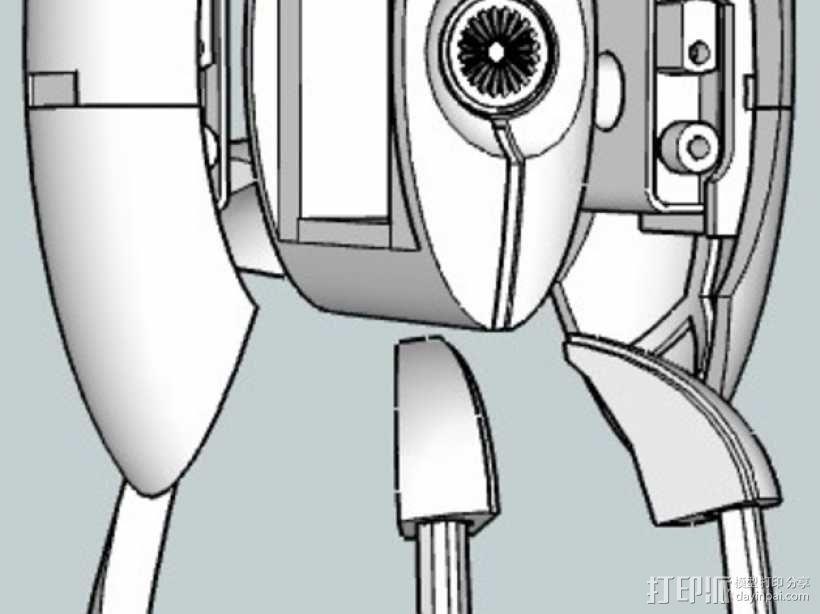 传送门炮塔 3D模型  图2