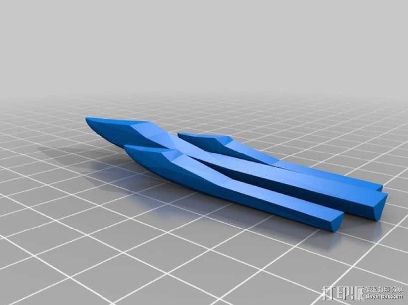 传送门炮塔 3D模型  图3