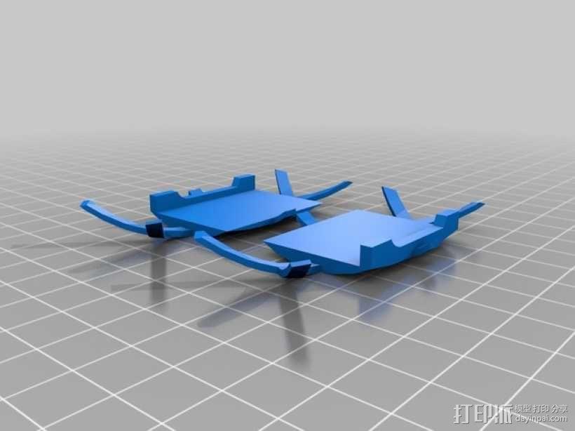 传送门炮塔 3D模型  图4