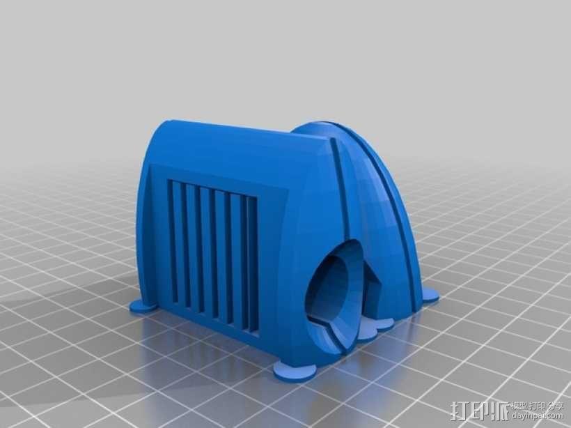 传送门炮塔 3D模型  图8