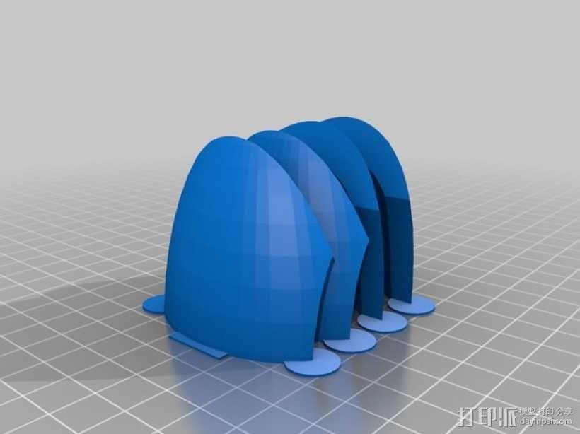 传送门炮塔 3D模型  图7