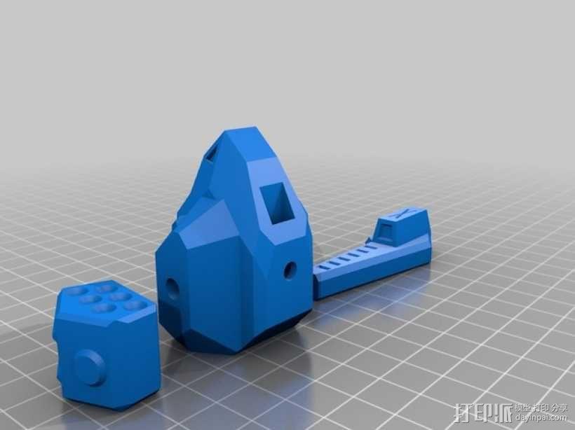 苍鹰机器人 3D模型  图2
