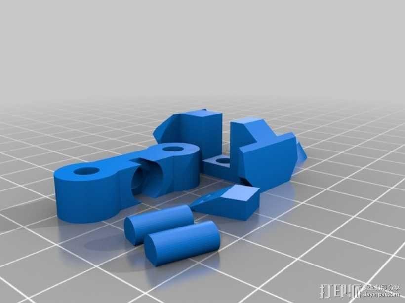 苍鹰机器人 3D模型  图3