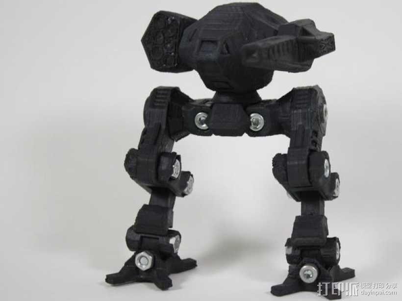 苍鹰机器人 3D模型  图1