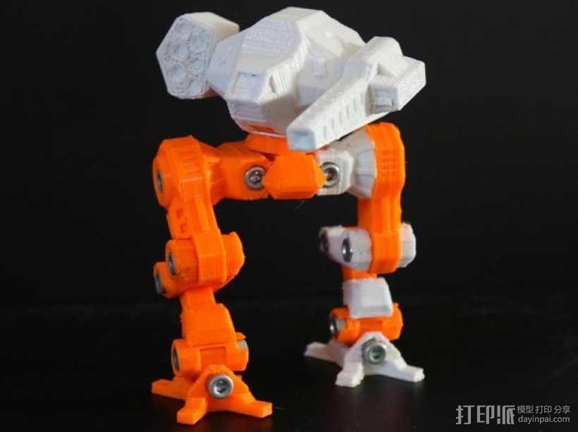 苍鹰机器人 3D模型  图9
