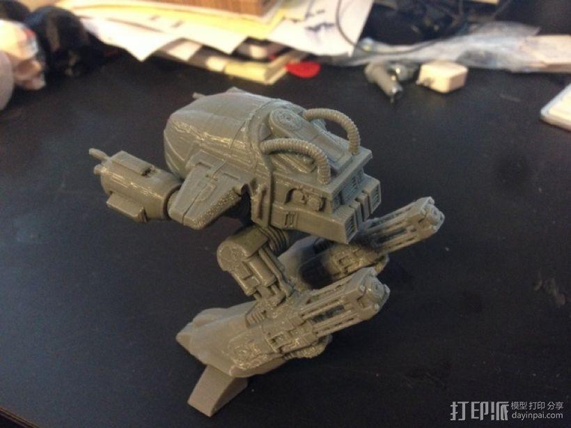 ED-209机器人 3D模型  图9