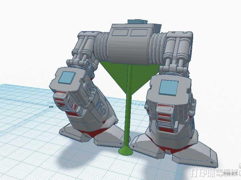 ED-209机器人 3D模型  图10