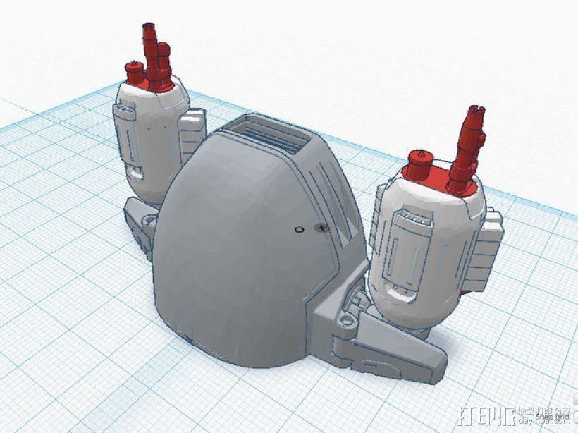 ED-209机器人 3D模型  图11