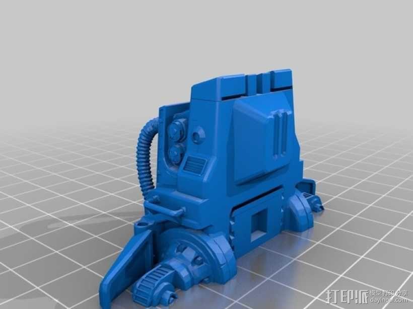 ED-209机器人 3D模型  图16