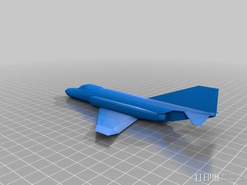 F-4 鬼怪战斗机 3D模型  图1
