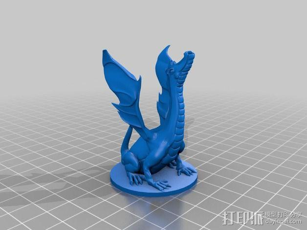 Adalinda唱歌的蛇 3D模型  图2