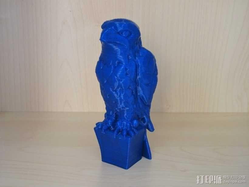 马耳他猎鹰 3D模型  图1