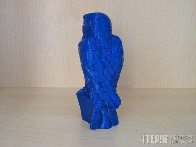 马耳他猎鹰 3D模型  图2
