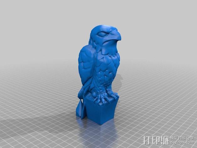 马耳他猎鹰 3D模型  图4