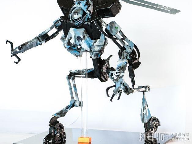 Seeders机器人 3D模型  图2