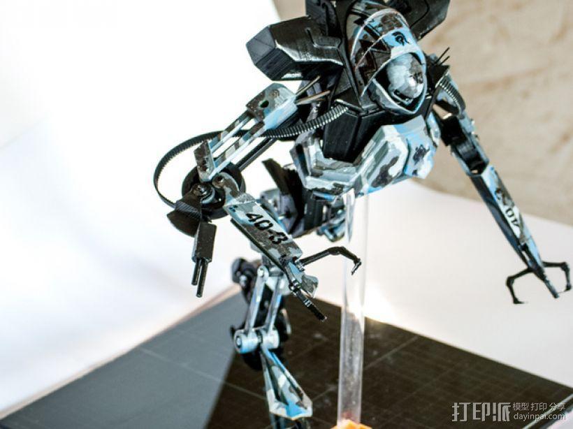 Seeders机器人 3D模型  图1
