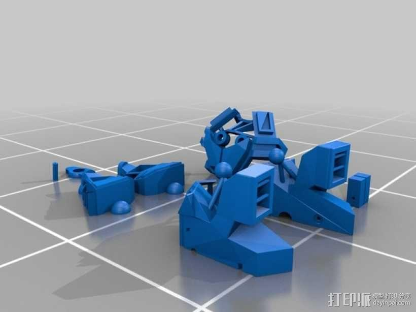 Seeders机器人 3D模型  图10