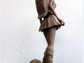 校服女孩 3D模型