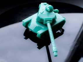 T110E5坦克 3D模型